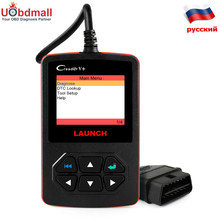 Original LAUNCH CReader V+ OBD2 Fault Code Reader in Russian Same Function As AL519 AD510 Diagnostic Tool Better Than ELM327