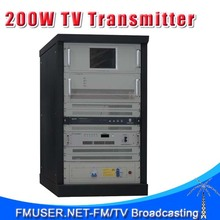 CZH518D-200W 200w DVB-T Digital TV Territorial Broadcast Transmitter for Professional TV Station(China)