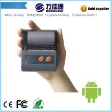 Pretty Portable Thermal Printer supports Bluetooth, RS232 and USB work with tablet, phone, pc or laptop Free SDK provided