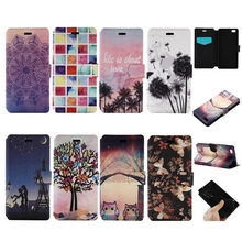sFor Carcasas Huawei P8 lite Case PU Leather Mobile Phone Case Soft Silicone Back Cover For Coque Huawei P8 lite Flip Case Etui
