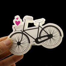 Laser Cut 50pcs/lot Vintage Bicycle Candy Boxes Wedding Bridal Favors Gifts Decorations Elegant Party Sweet Bags For Kids JJ926