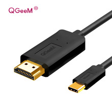 usb c to hdmi 4k 1080P 60HZ usb type c to hdmi 2.0 male cable Thunderbolt 3 cable 3D for Macbook 2017 Google Chromebook Pixel