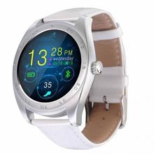 New Traditional classic style smart watch cellphone Bluetooth support heart rate monitor wake up gesture for IOS & Android phone(China)