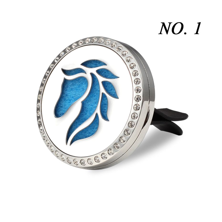 Car Air Freshener Auto outlet Perfume Vent Air freshener in the Car Air Conditioning Clip Magnet Diffuser Solid Perfume- 246