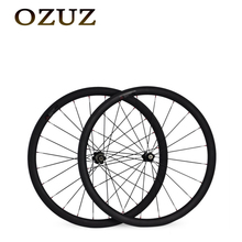 Buy OZUZ 700C 38mm Clincher Carbon Wheel Road Bike Bicycle Wheels Stand Wheels Novatec 271/372 Hubs 3K Matte Glossy Wheelset for $318.50 in AliExpress store