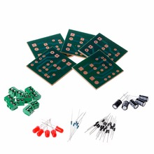5 Pcs DIY Kit IN4007 Full Wave Rectifier Circuit AC To DC Power Supply Converter(China)