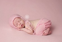 newborn beanie and pants Newborn Baby Photography Photo hight quality soft mohair crochet baby clothes set hat and shorts