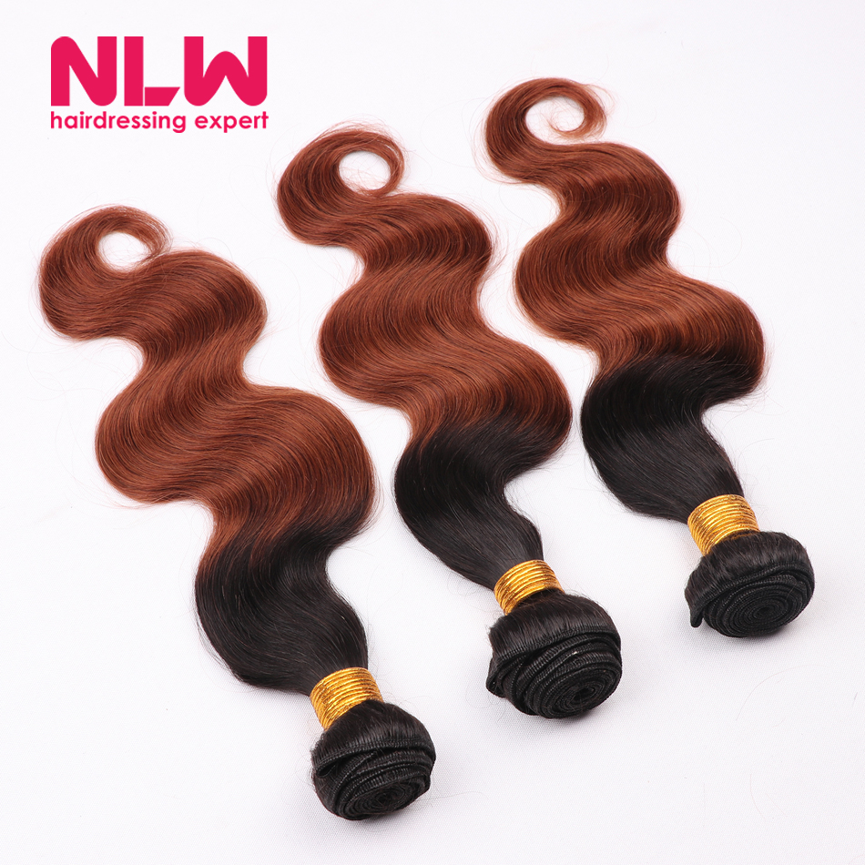 Ombre Cheap Black Weft Body Wave Brazilian Hair Bundles for Sale 8A Best Quality Real Virgin Hair Extension 3 Pcs DHL Free Ship <br><br>Aliexpress