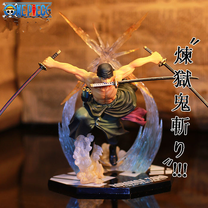 Japanese Anime One Piece POP Roronoa Zoro Banpresto Japan Action Figure Colossum New PVC 18CM Action Collection Model Toy<br><br>Aliexpress