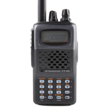 General for walkie talkie YAESU FT-60R Dual-Band 137-174/420-470MHz FM Ham Two way Radio Transceiver yaesu FT60R radio(China)