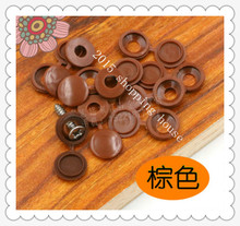 Furniture accessories plastic plug cap screw furniture decorative cap cover decorative buttons 01(China)