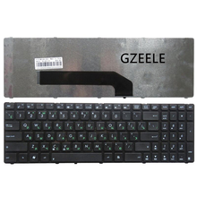 GZEELE RU Version Keyboard For ASUS K50 K50I K50C K50AB K50AD K50AF K50IN K50IJ P50 P50IJ Laptop replace keyboard black new RU(China)