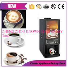 2 in 1 hot and cold hot coffee drinkings instant coffee vending machine milk vending machine(China)