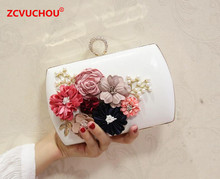 2017 Rings Diamonds Women 3D Decals Evening Bags Purse Metal Clutches Handbags Evening Bags For Wedding Crystal Luxurious Wallet(China)