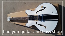 top quality Hagstrom Viking Semi Hollow Body Electric Guitar White or Hagstrom Swede Electric Guitar Tobacco Sunburst(China)