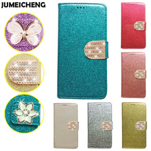"Buy Luxury Glitter Flip PU Leather Case Elephone C1 Phone Case Cover Elephone C1 5.5"" Card Slot Wallet Holster Cover for $3.71 in AliExpress store"