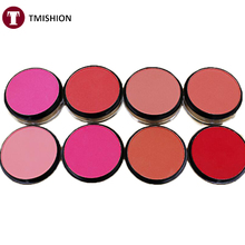 Top Quality Professional Baked Blush Makeup Cosmetic Natural Baked Blusher Powder Palette Charming Cheek Color Make Up Blush