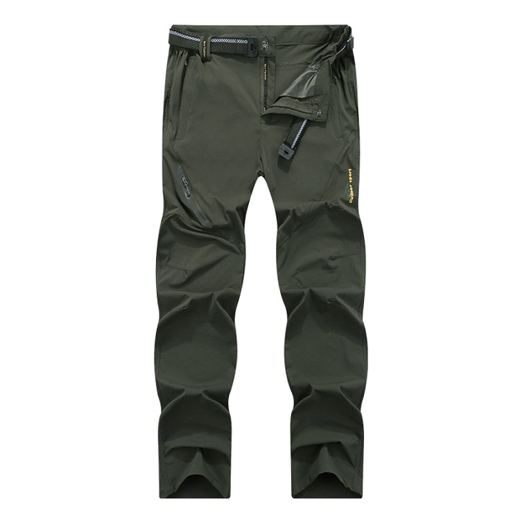 NaranjaSabor 2018 Summer Quick Dry Men's Trousers Casual Mens Pants Breathable Waterproof Army Pants Mens Brand Clothing 7XL 8XL 10
