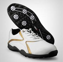 New 공장 \ % Sale Golf Shoes Super 섬유 Fixed 못 Skidproof 및 숨 Lace-업 방수 Sports Shoes(China)