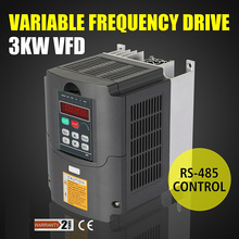 Free Shipping 3KW 220V AC Variable Frequency Drive VFD Inverter for 3.0KW spindle 3000W vfd 3KW Inverter