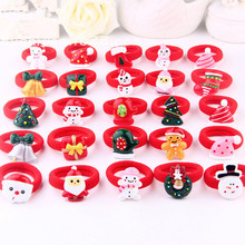 Multi-style Christmas gift Elastic Hair ropes Kids Hair ties Adorable Ponytail Holder Hair Accessories