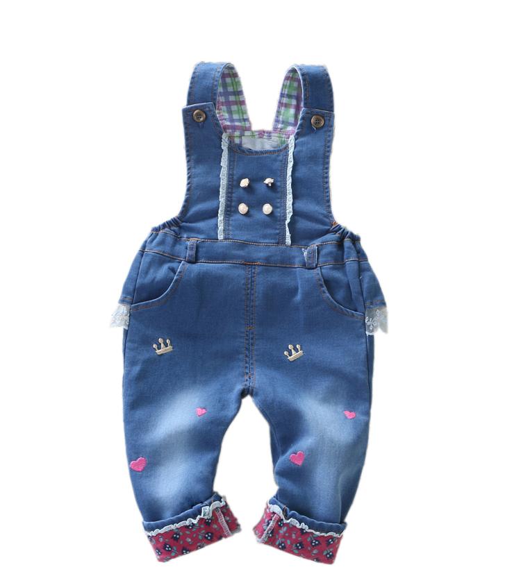 Newest Design 2015 Brand Baby Clothing Girls Lace Rompers Boys Jeans Overalls bebe Denim Jumpsuit Baby Clothes Infant  Costume<br><br>Aliexpress