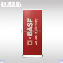 80*200cm 4PCS Deluxe Popular Wide Base Aluminum Roll Up Advertising Banner Stand,Tradeshow Exhibition Durable Display Equipment(China)