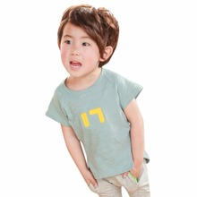 2017 Baby Kids Boys Girls Clothes T shirt Child Clothing Childrens Tops Summer Clothes Short Sleeve Tee Shirts Cartoon