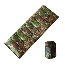 Portable Ultralight Single Camouflage Camping Sleeping Bag For Adult Jungle Survival Envelope Style Army Military Sleeping Bags(China)
