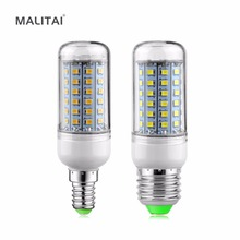 1Pcs Full Replace 7W 12W 15W 20W 25W Campact Incandescent lamp LED Corn Bulb E27 E14 AC 220V Spot light For Home Indoor lighting(China)