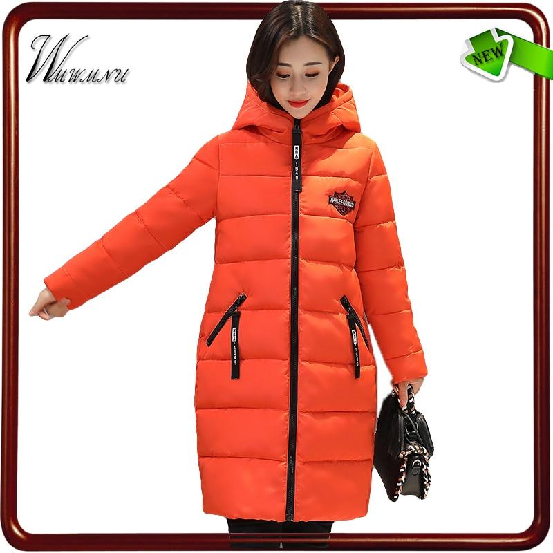 wmwmnu fashion warm cocoon long coat femal slim winter jacket women casual parka mujer hoodies thick winter coats outwearÎäåæäà è àêñåññóàðû<br><br>