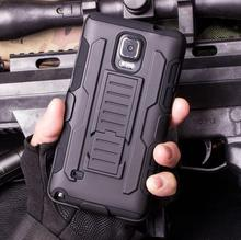 Military Armor Phone Case for Samsung Galaxy J1 J3 J5 2016 Note 4 Hard Plastic Hybrid Cover for J120 J310 Belt Clip Bag Holster
