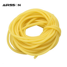 3mm x 5mm Natural Latex Slingshots Rubber Tube 1m Tubing Band For Slingshot Hunting Catapult Elastic Part Bungee Equipment