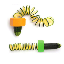 Useful New Cucumber Courgette Cutter Vegetable Peeler Cooking Gadgets Kitchen Tool Random Color
