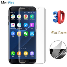 Nano Explosion Proof 3D Curved PET Film For Samsung Galaxy s7 Edge Screen Protector For S6 Edge Plus Soft Full Screen Saver