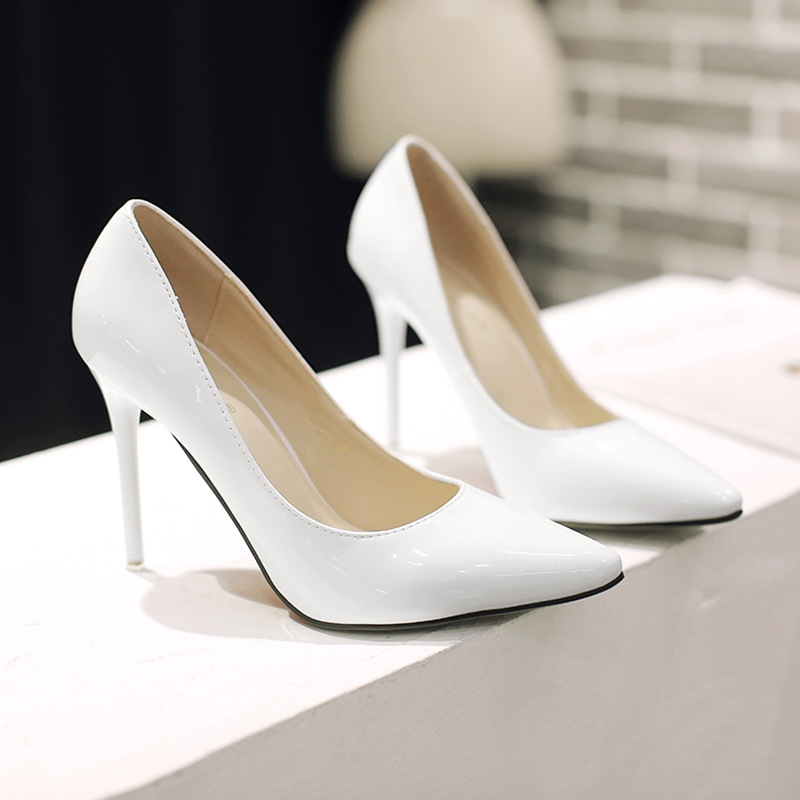 2015 Spring New Pointed High-heeled Office Shoes 10.5CM Stilettos Heels Sexy Women Pumps<br><br>Aliexpress