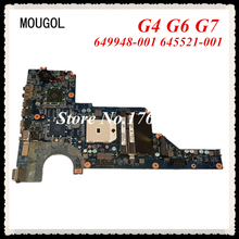 MOUGOL 649948-001 645521-001 mainboard fit For HP G4 G6 G7 Laptop motherboard 100% WORKING FAST Shipping(China)