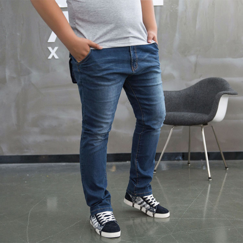 50 48 46 44 9XL 8XL 6XL 5XL Jeans Male Casual Straight Denim Mens old processing Jeans Slim fold denim Brand Jeans Full LengthОдежда и ак�е��уары<br><br><br>Aliexpress