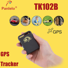 TK102B New Hot Sale Mini GPS/GSM/GPRS Car Vehicle Tracker Locator SOS Over-speed Alarm Realtime tracking person Track device