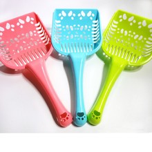 New Style Pet Products Shovel Cat Litter Plastic Scoop Cat Sand Cleaning Dog Food Spoons Cat Sand Shovel Dog Supplies