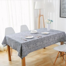 Retro Blue And White Tablecloths Chinese Classical Cotton Linen Table Cloths  Wedding Tablecloth Lace Tablecloth