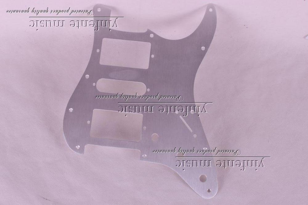 New 1pcs Electric Guitar pickguard /ST Yellow style 3-ply HSH #A69<br>