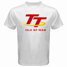 2017 New Arrive Mens Street Style Men Isle Of Man Tt Race T Shirt Logo O-Neck Oversize Style Tee Shirts Styles