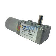 Free shipping.DC motor 12V 9rpm/8kg.cm dc gear motor,gear reduction worm motor small low rpm motors
