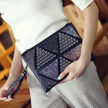 2017 New Women Leather Crossbody Bags For Girls Handbags Day Clutches Envelope Evening Party Bags Bols Messenger Bag
