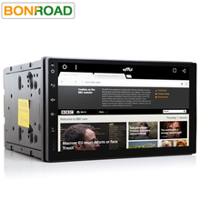 Bonroad C272 Quad Core 1024*600 Android 6.0 Car PC Tablet 2din Universal For Nissan GPS Navi Radio Stereo Audio Player (No DVD)(China)