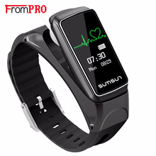 FROMPRO B7 Bluetooth Smart Band Talkband Heart Rate Monitor Sport Health Smartband Watch Bracelet with Music Player Wristband(China)