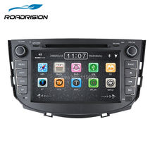 Car DVD Stereo Headunit Navigation For Lifan X60 new with GPS Bluetooth Ipod SWC 3G Wifi 1080P Russian language Free Map card