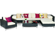 7 Piece All Weather outdoor furniture modular sofa sets