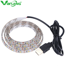 USB Cable Led Strip Light Waterproof 3528 SMD 60LED/M LED Tape DC5V Super Bright for Computer TV Backlight Home Decor Lighting